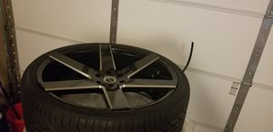 26 inch Rims/wheels/Tires for Sale in Germantown, MD