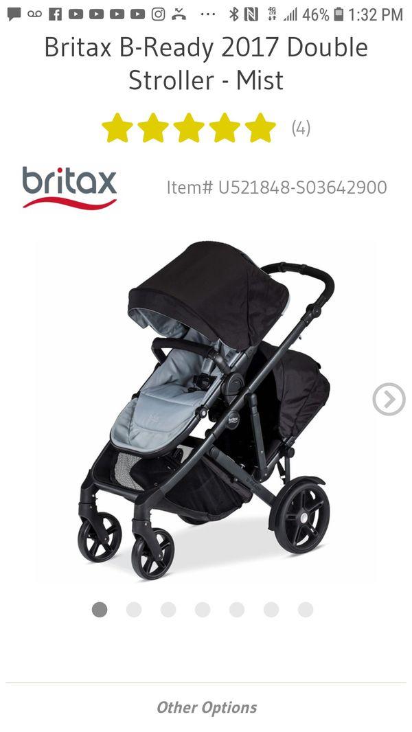 Britax B Ready Double Stroller For Sale In Anaheim Ca Offerup