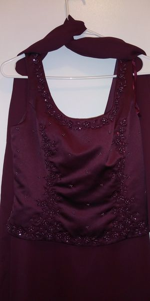 Burgandy gown for Sale in Schenectady, NY