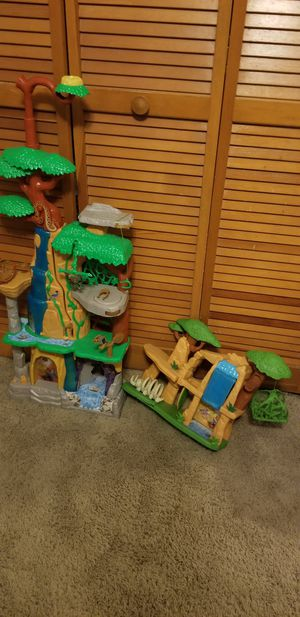 LionGuard playsets with animal figures. for Sale in Oviedo, FL