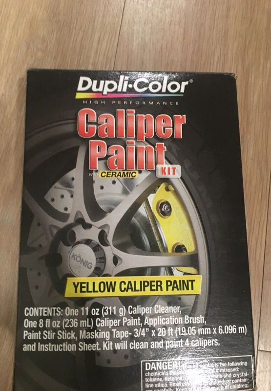 Duplicolor Yellow Caliper Paint Kit For Sale In Dalton Ga Offerup