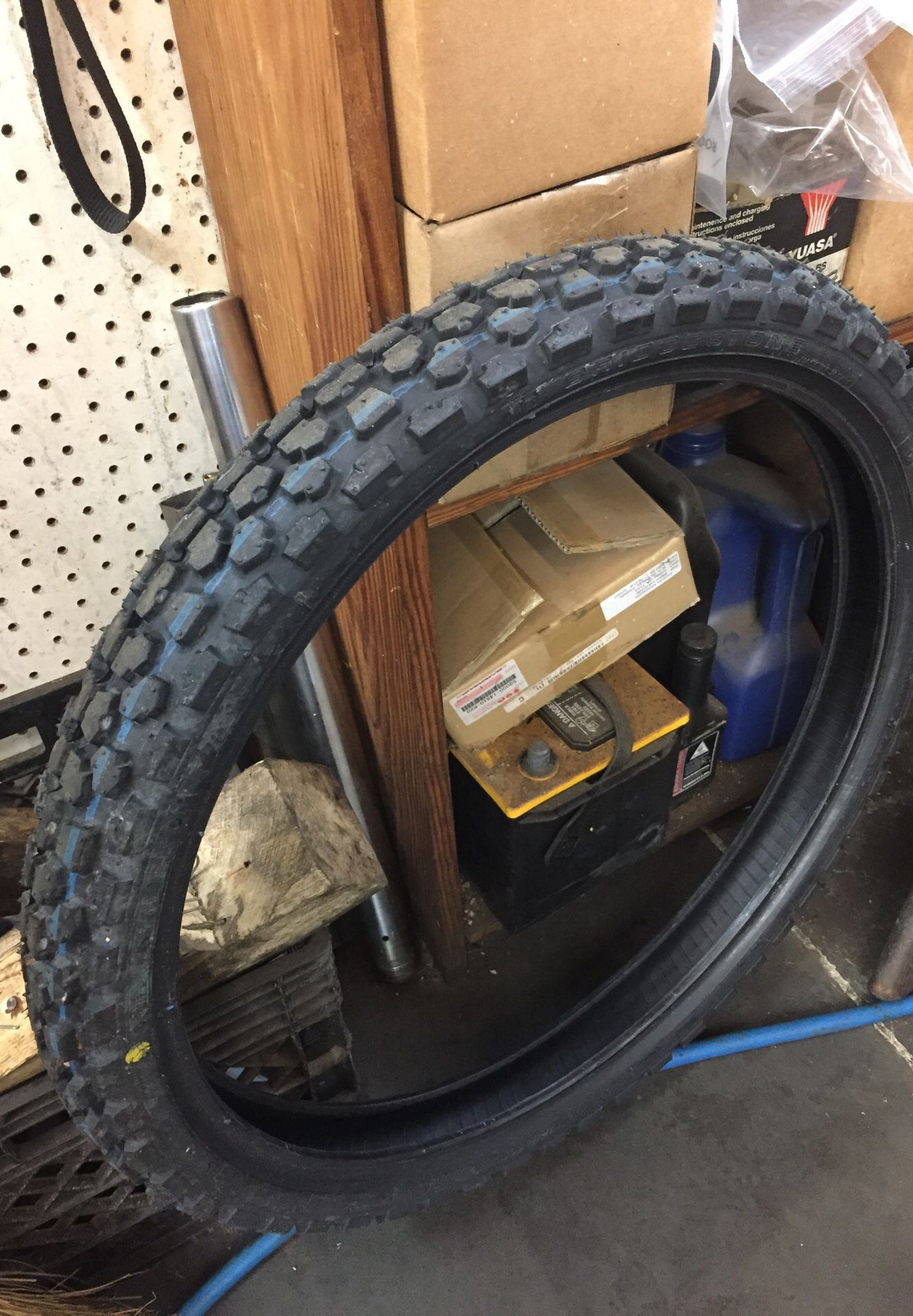 Bridgestone motorcycle tires