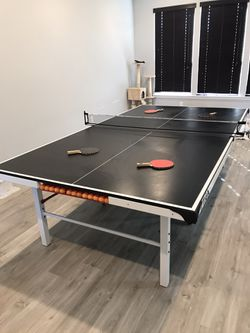Stiga Master Series ST3100 Competition Indoor Table Tennis Table, Black/White Thumbnail