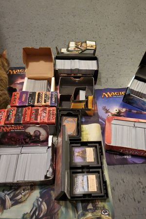 Photo Magic the Gathering Decks and Playmats