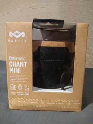 House of Marley Chant Mini Bluetooth Wireless Speaker for Sale in Port Orchard, WA