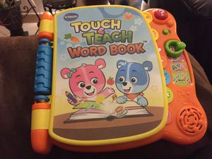 Vtech touch and teach book for Sale in Manassas, VA