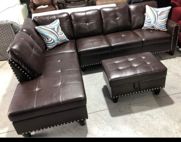 Brown Sectional For Sale In Indianapolis In Offerup