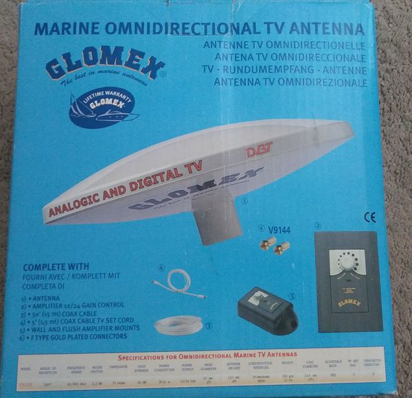 Marine Tv antenna for analogic or digital Tv (brand new) for Sale in  Deerfield Beach, FL - OfferUp