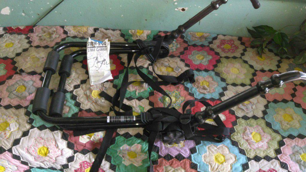 Bike Carrier (holds 2 Bikes)