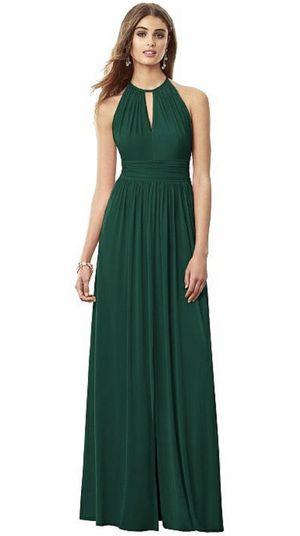 Dessy Hunter Green Bridesmaid Dress size 8 for Sale in San Francisco, CA
