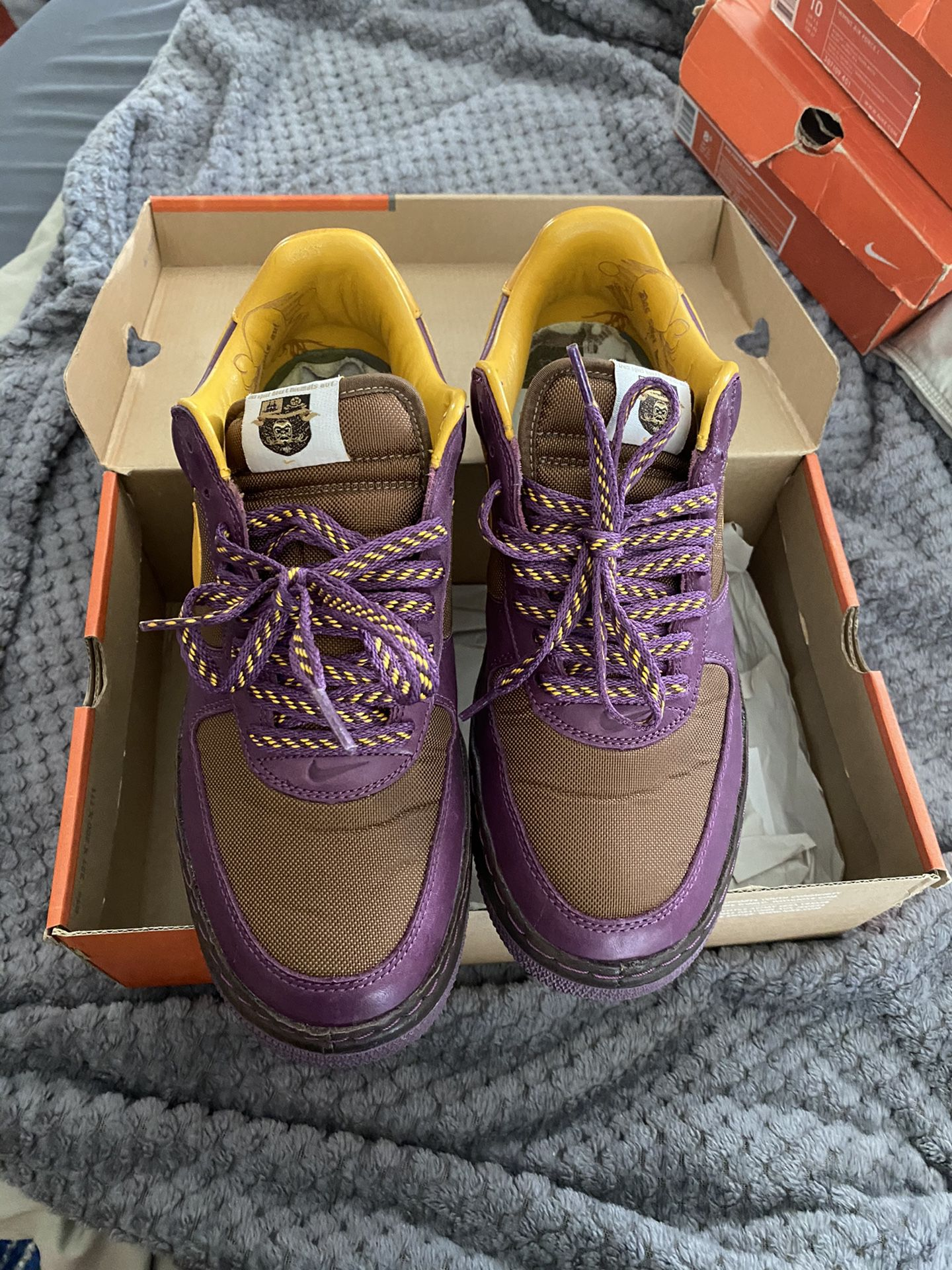 Nike Air Force 1 inside out pack