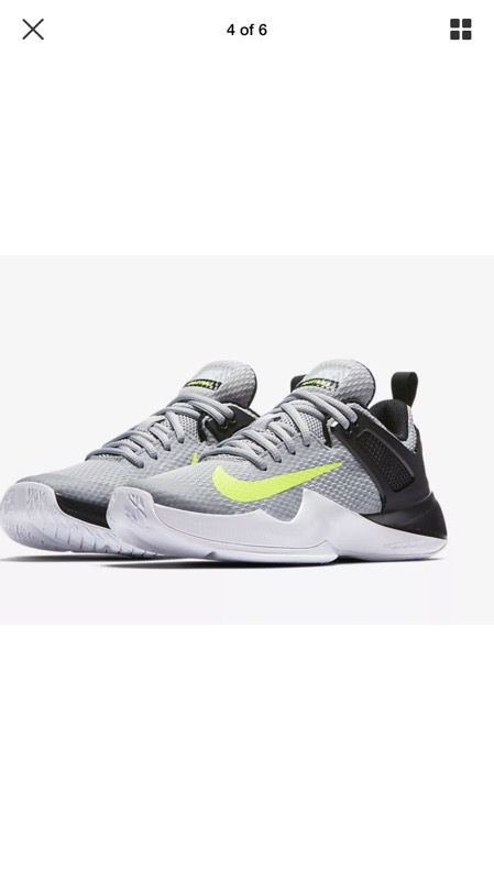 New Womens Nike Air Zoom Hyperace Volleyball Shoes 902367 007 sz 8