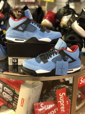 Brand New Travis Scott Cactus Jack 4's size 13 for Sale in Silver Spring, MD