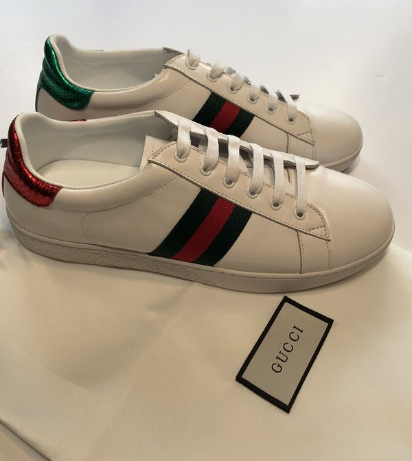2958847516b Gucci Ace Sneakers New with dustbag Men s 9 Women s 11 for Sale in ...