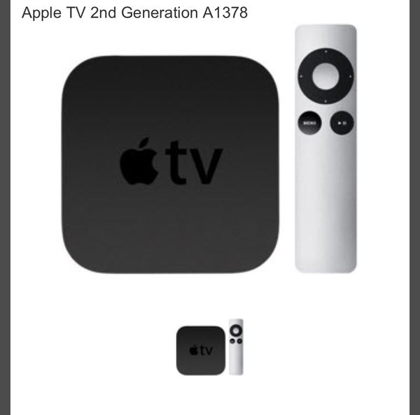 Apple TV 2nd generation with remote for Sale in Garfield, NJ - OfferUp