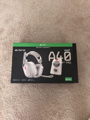 Astro a40 TR gaming headset (USED ONCE) for Sale in Atlanta, GA