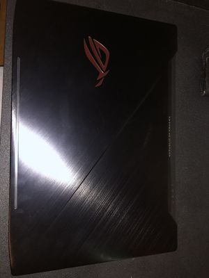 Asus Rogstrix gaming laptop with a Nvidia GeForce 1060 graphics card, 1 Tb hard drive, 16 GB ram, Intel I7 processor. for Sale in Orlando, FL