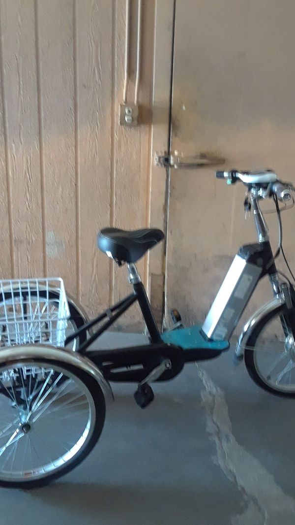 Electric Tricycle New Lithium Ion Battery Sd 20 Mph