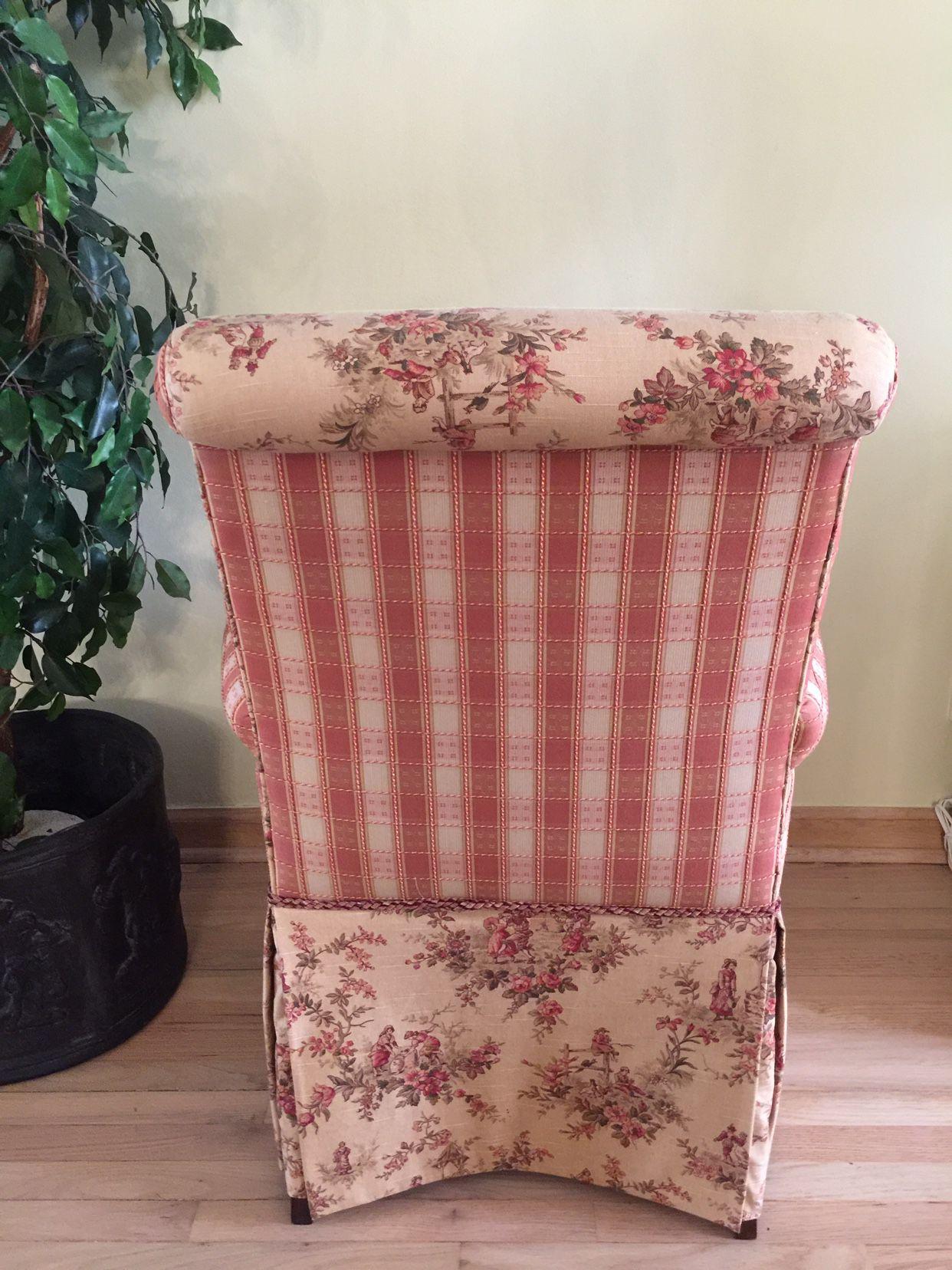 Custom made parsons chairs