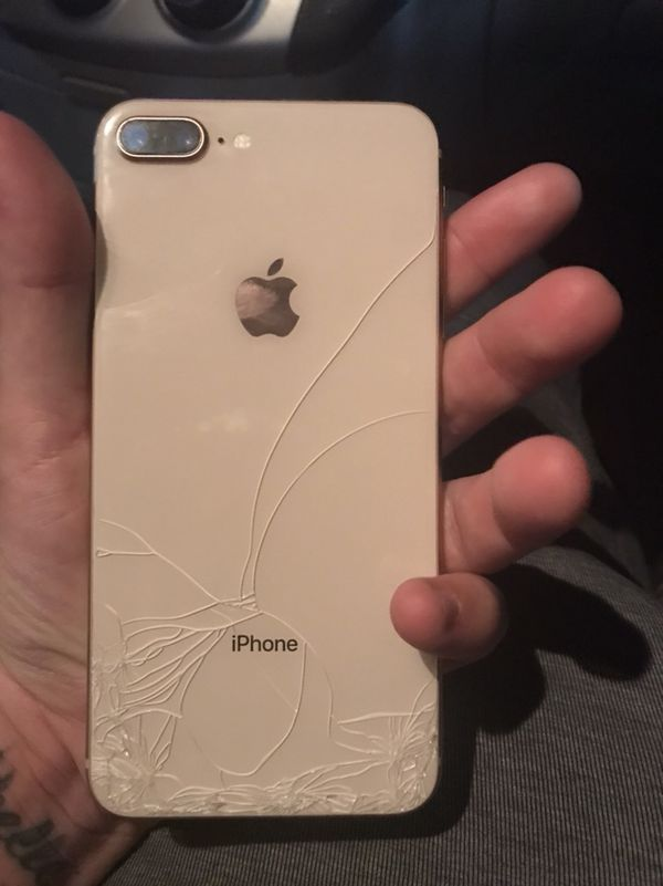 timeless design e27ef b2adf iPhone 8 Plus 64gb Unlocked ( cracked screen and back ) for Sale in  Phoenix, AZ - OfferUp