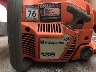Husqvarna chainsaw Thumbnail