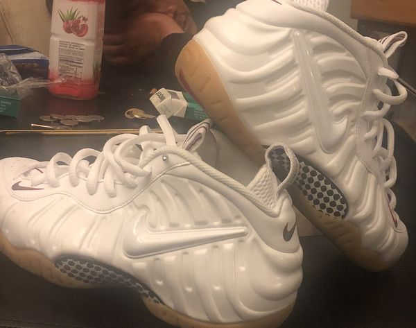 5ed96e3c3d20 ALL WHITE GUCCI FOAMPOSITES sz 8.5 for Sale in Daly City