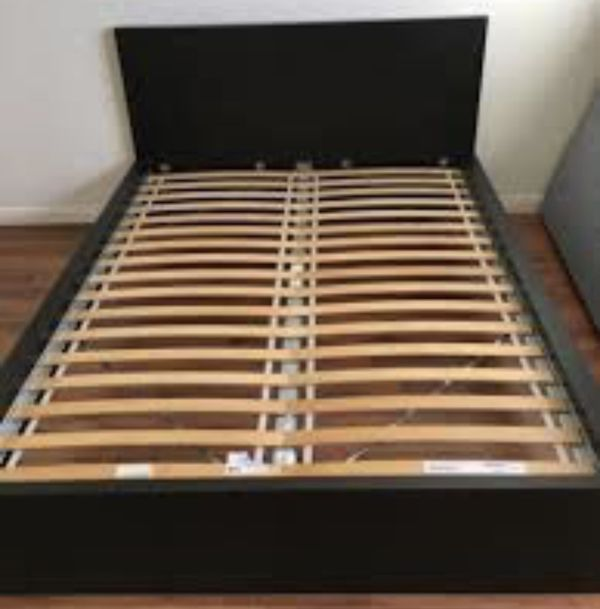 IKEA Malm queen size bed frame for Sale in New York, NY   OfferUp
