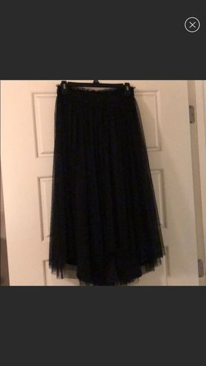 9743fcd02 Lauren conrad runway black tulle skirt Xs for Sale in San Francisco, CA