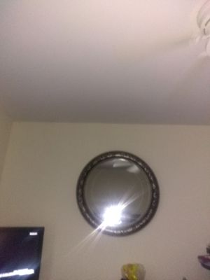 Huge black Circled Mirror for Sale in Fairfax, VA