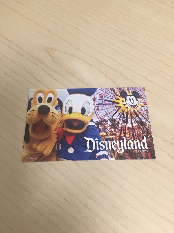 Disney 1-Day Park Hopper Complementary tickets for sale!! for Sale in  Tustin, CA - OfferUp