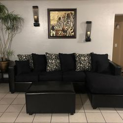 ¡¡¡Sectional with Ottoman Brand New!!! Thumbnail