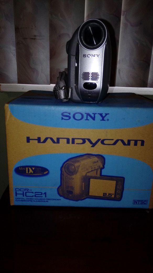 Sony handyman mini video recoder