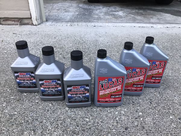 Lucas SAE 20W-50 High Performance Motorcycle Oil for Sale in Edmonds, WA -  OfferUp