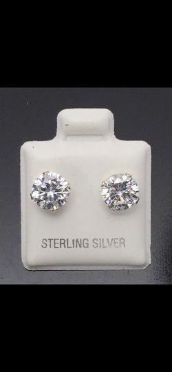 Beautiful Silver Sterling Earrings Thumbnail