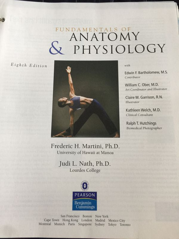 Fundamentals of Anatomy & Physiology for Sale in Miami, FL - OfferUp