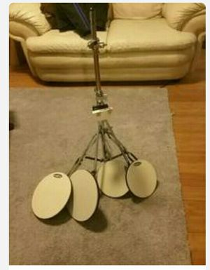 Drum practice pad set with stand for Sale in Apopka, FL