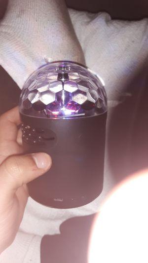 Small disco speaker for Sale in Newark, OH