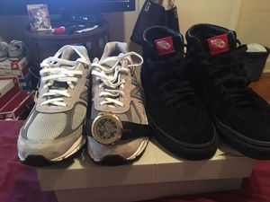 Size 9 990s New Balance and All Black Vans and a Real GUCCI Watch For $250 for Sale in Washington, DC