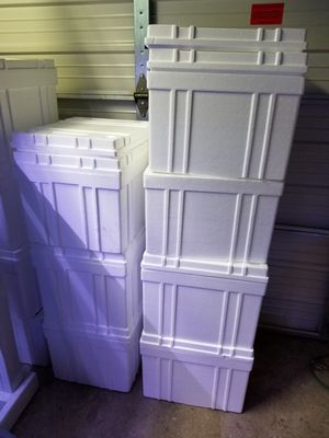 "Styrofoam coolers large 17""x15""x14"" for Sale in Fairfax, VA"