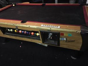 COIN OPERATED POOL TABLE For Sale In Atlanta GA OfferUp - Pool table stores in atlanta ga