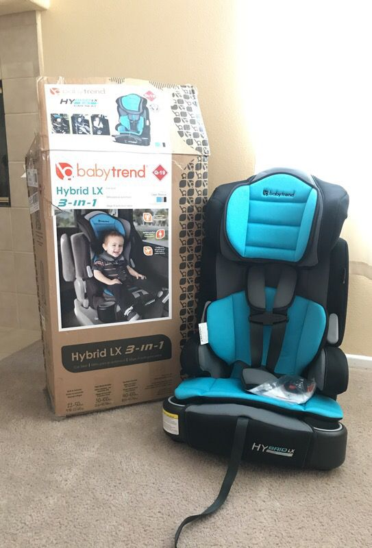 Baby Trend Hybrid Lx 3 In 1 Harness Booster Car Seat Capri Breeze For Victorville Ca Offerup