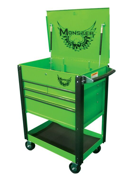 monster tool box pt#mst3304g for sale in lawrence, in - offerup