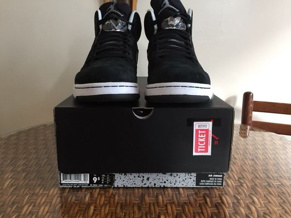 394308d32f47 Air Jordan retro 5 oreo sz 9.5 Ds 100% authentic for Sale in San ...