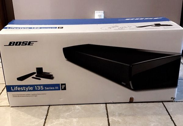 Bose-lifestyle 135 series lll Home entertainment system neve