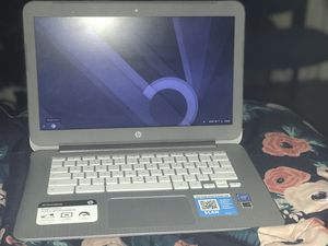 Hp google chrome laptop/ comes with charger for Sale in Washington, DC