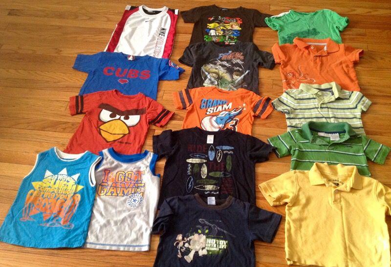 Boys 3t clothing lot Nike Gymboree gap 24 piece