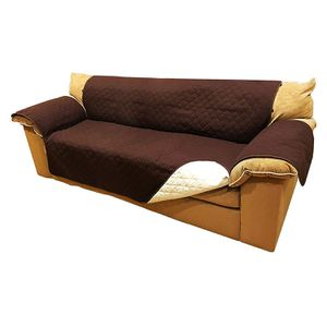 ALEKO PSC03BR Pet Furniture Slipcover Spill Scratch Pet Fur Protection Cover for Sofa Couch Bed 110 x 71 Inches Brown for Sale in Kent, WA