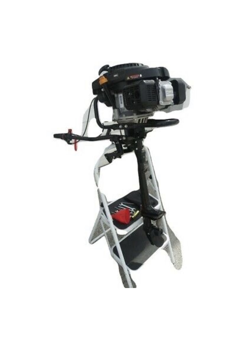 Photo 9 Hp Outboard BRAND NEW 4 Stroke Outboard Engine Air Cooled Jon Boat Zodiac Inflatable