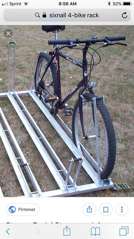Sixnall 4 bike rack slash transport for pickup or pop up camper for Sale in  El Cajon, CA - OfferUp