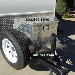 Photo New Trailer Tool Box $160 - Locking (2) Keys - 43 ave / Cactus Rd